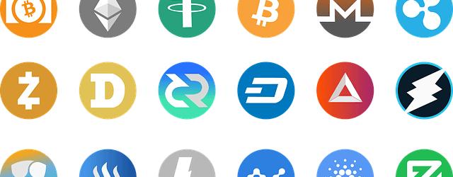 主な仮想通貨の種類